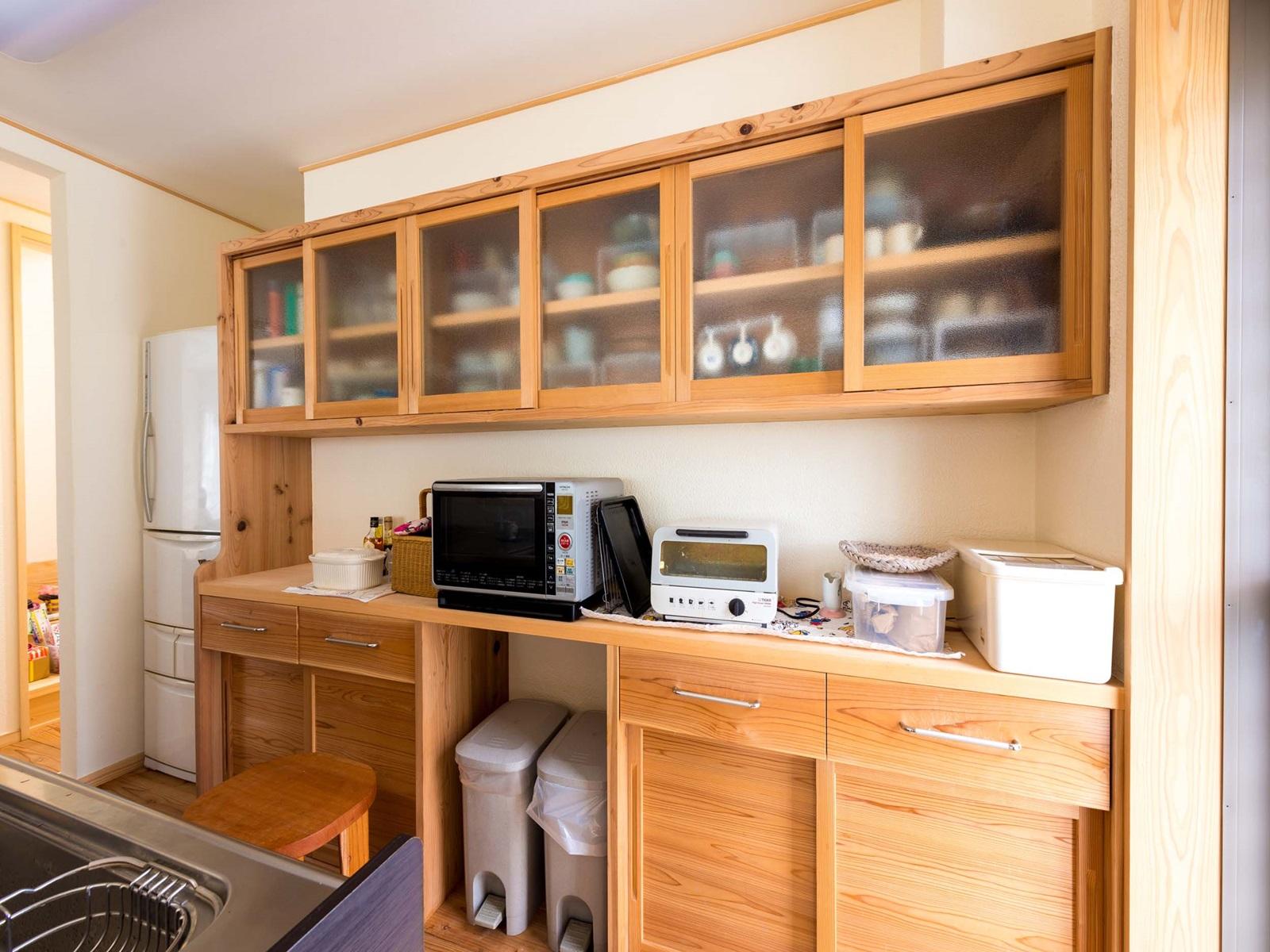 キッチン食器収納造作