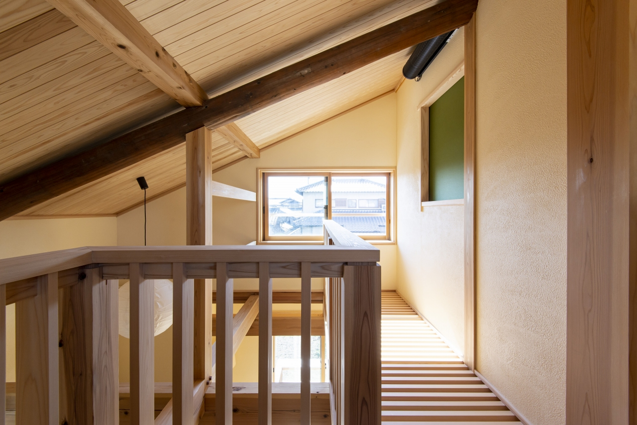 階段ホール・吹抜けスノコ